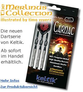Keltik Darts - Merlinus Collection